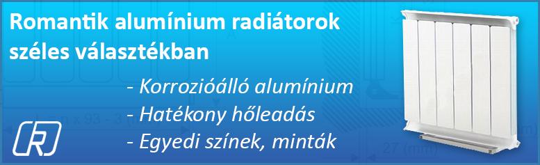 Romantik aluminium radiátor