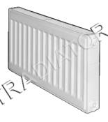 Kétsoros Korad radiátor (22K, DK)
