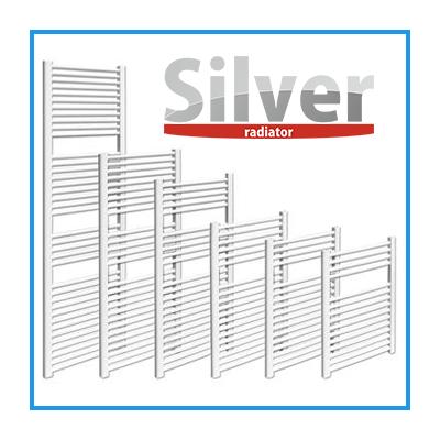 Íves Silver törölközőszárító radiátor