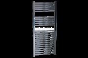 Sanica 400X1000 mm íves törölközőszárító radiátor króm