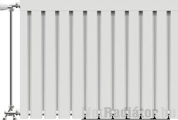 Viking aluminium radiátor 600 mm kötéstáv 15 tag