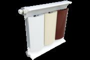 Romantik Plus fehér szinterezett aluminium radiátor 1600mm kötéstáv 1 tagos